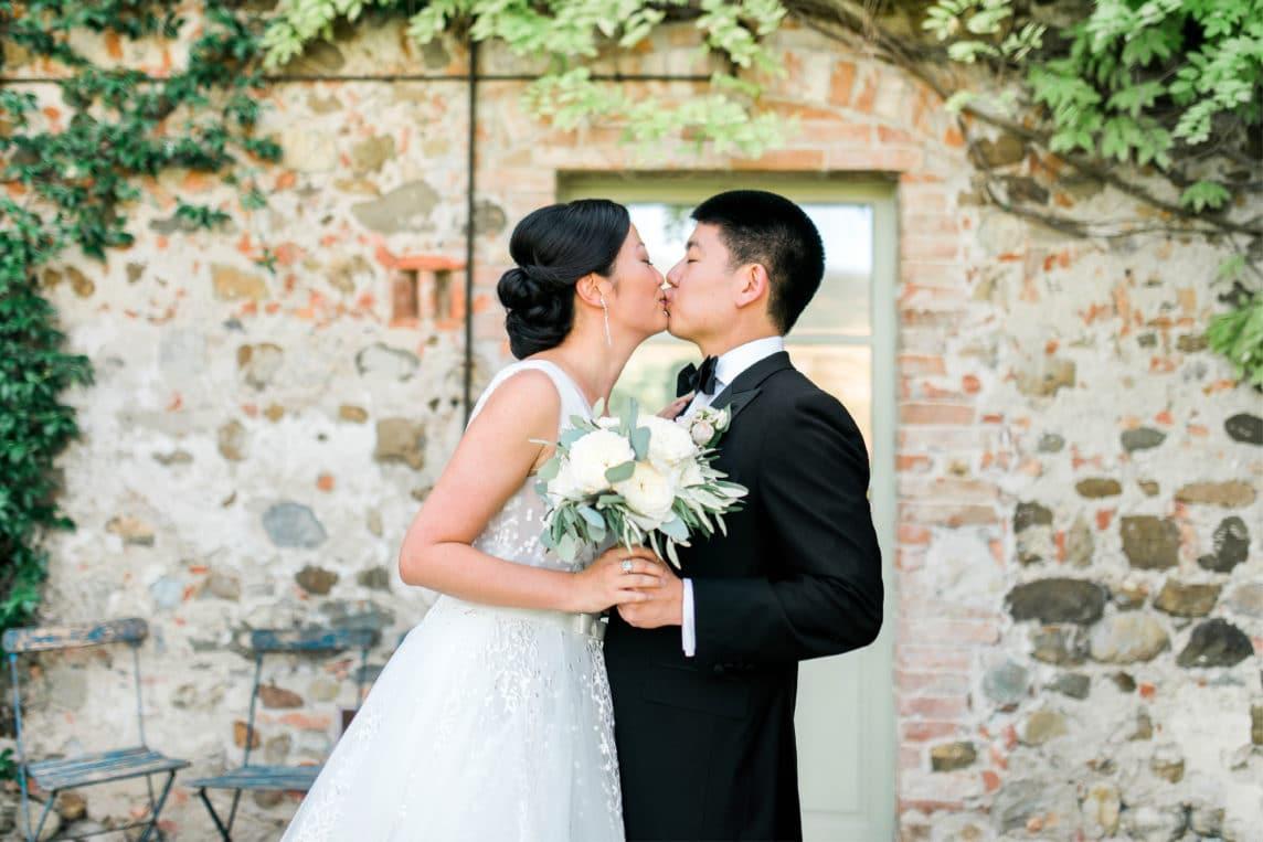 Matrimonio da favola in Val d'Orcia