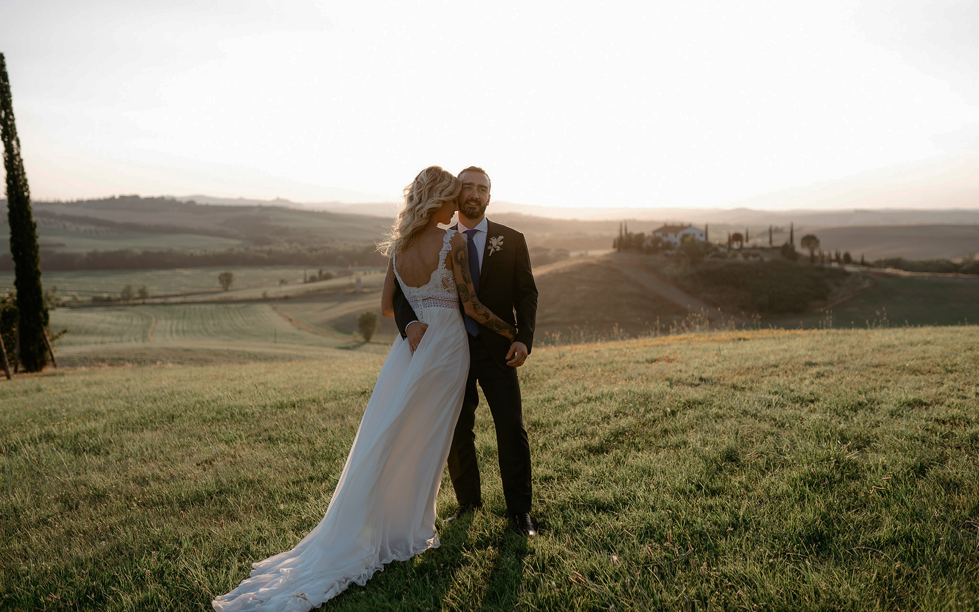 A breathless wedding venue in Tuscany